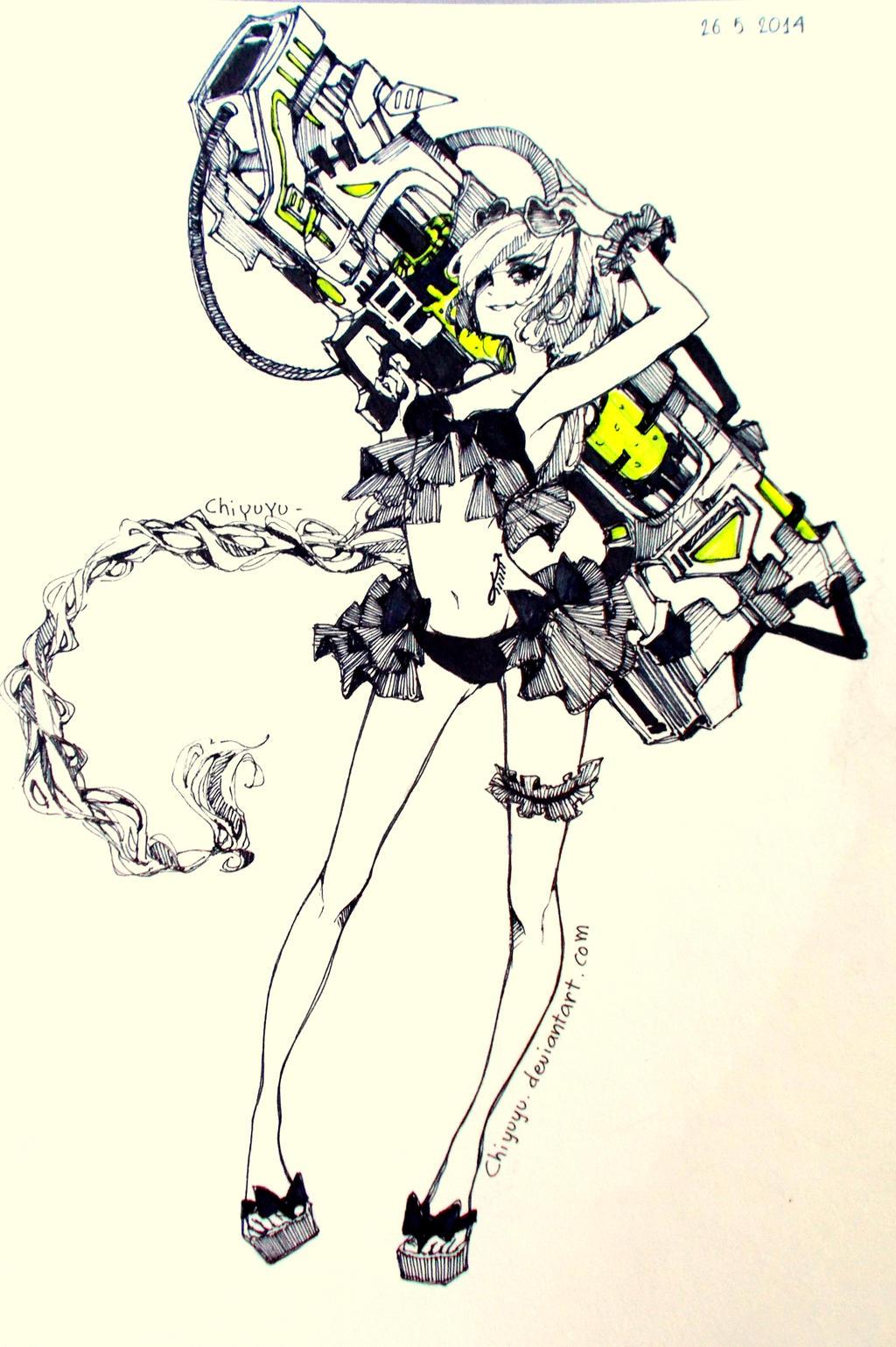Summer Warrior by chiyuyu