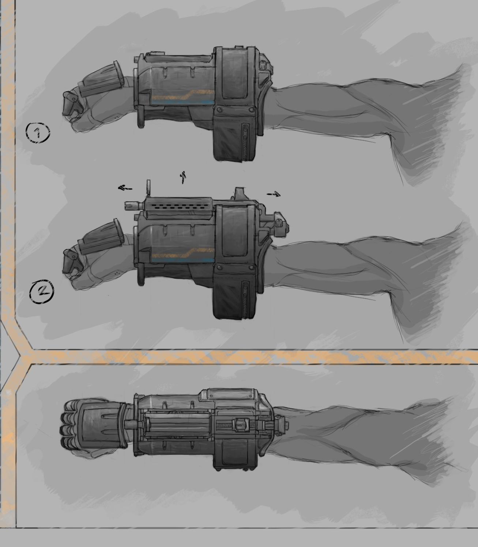Wrist Gun Concept