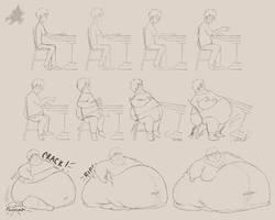 The First Fattening by Hansel-Fleischer