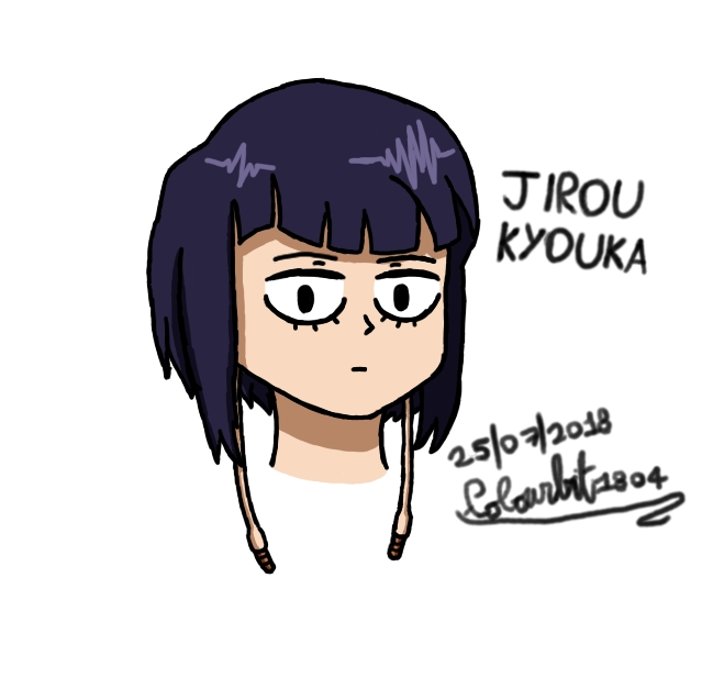 Jirou Kyouka with quirk by Colourbit1804