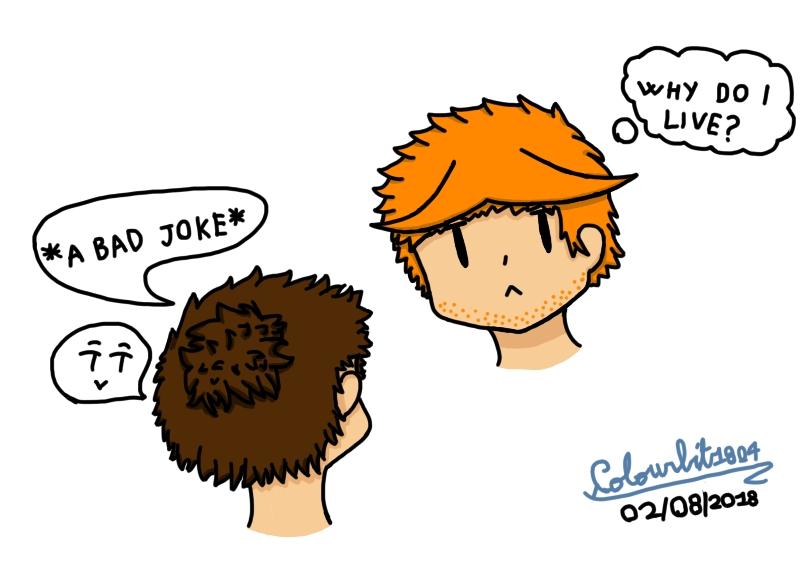 Alex is sad by Colourbit1804