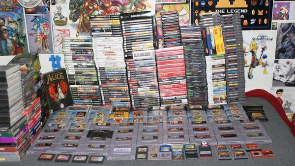 My Games 1 by nintendoloz