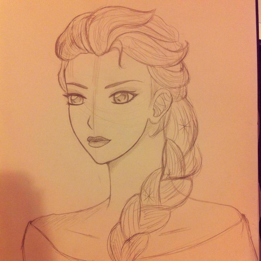 Elsa by MeridianVector