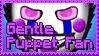 GentlePuppet Stamp by GentleTheMarionette