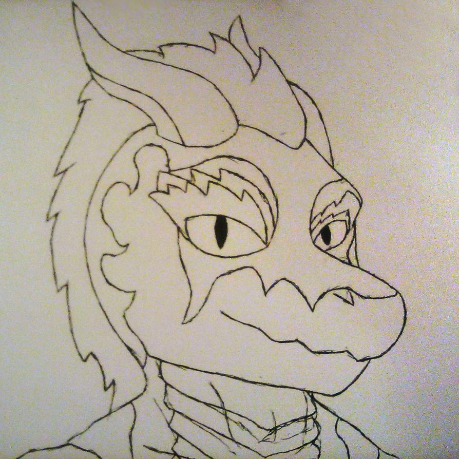 Wruzz's Head Sketch by GentleTheMarionette