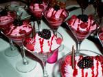 Raspberry Mousse Martini