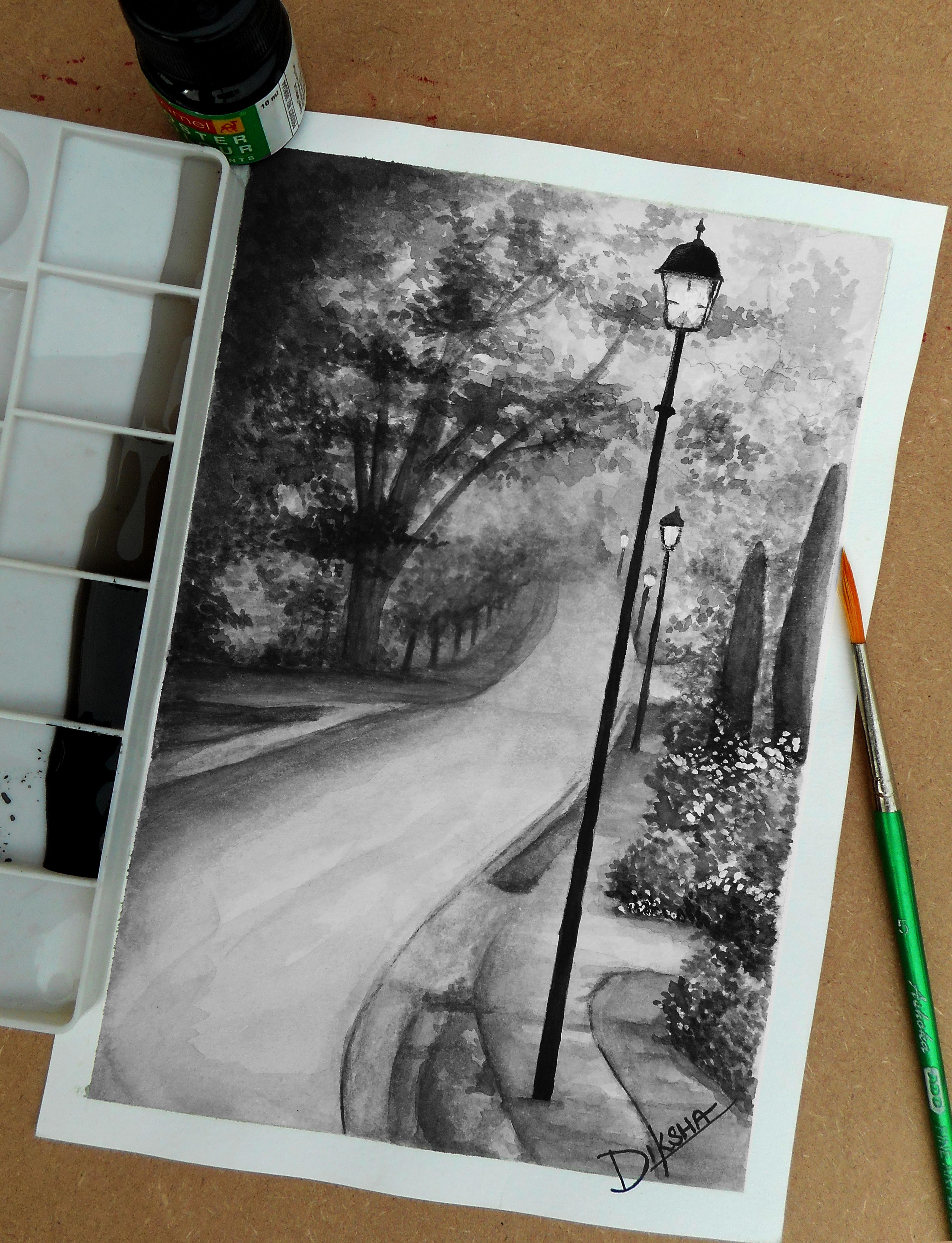 Mist in the Night by Diksha13