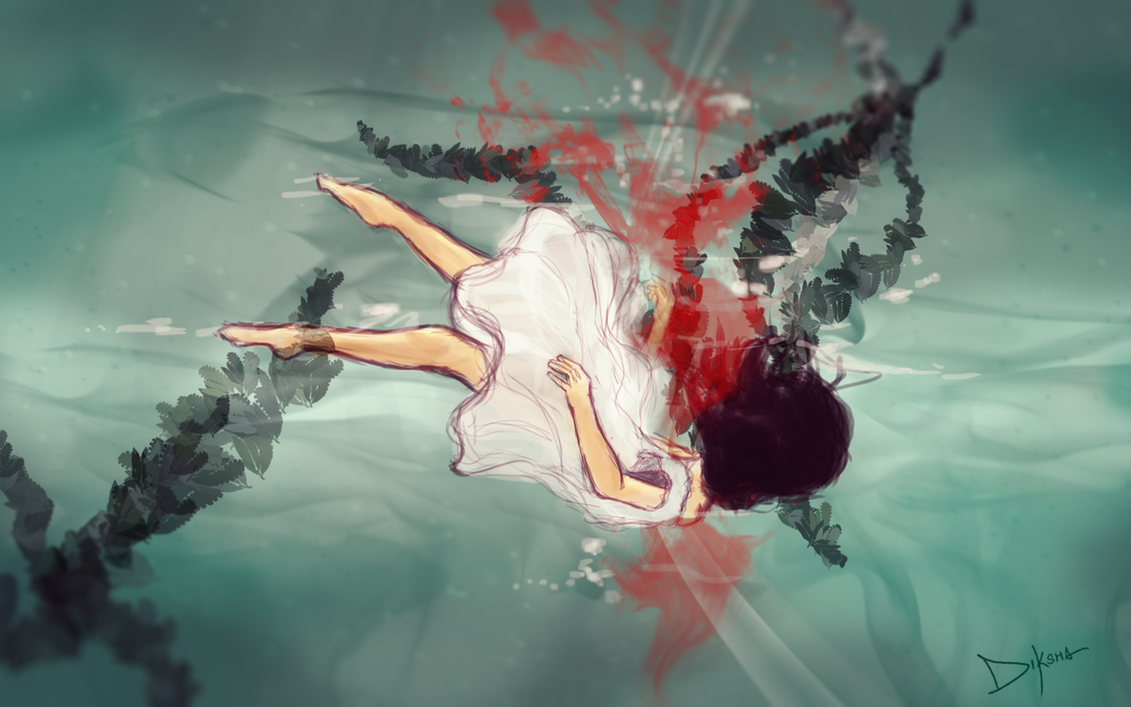 Drowning by Diksha13