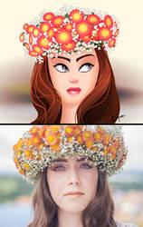 Flower Crown by Diksharpner