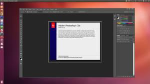 Ubuntu 12.4_LTS With Photoshop CS6