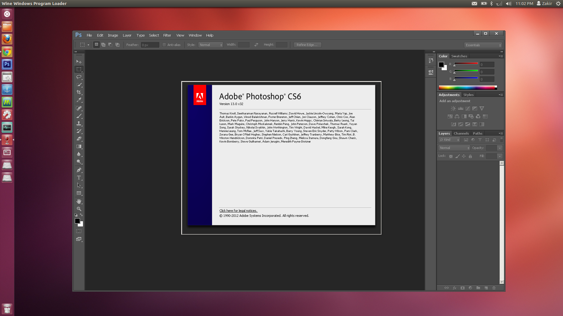Ubuntu 124lts with photoshop cs6 by mbossg on deviantart ubuntu 124lts with photoshop cs6 by mbossg ccuart Choice Image
