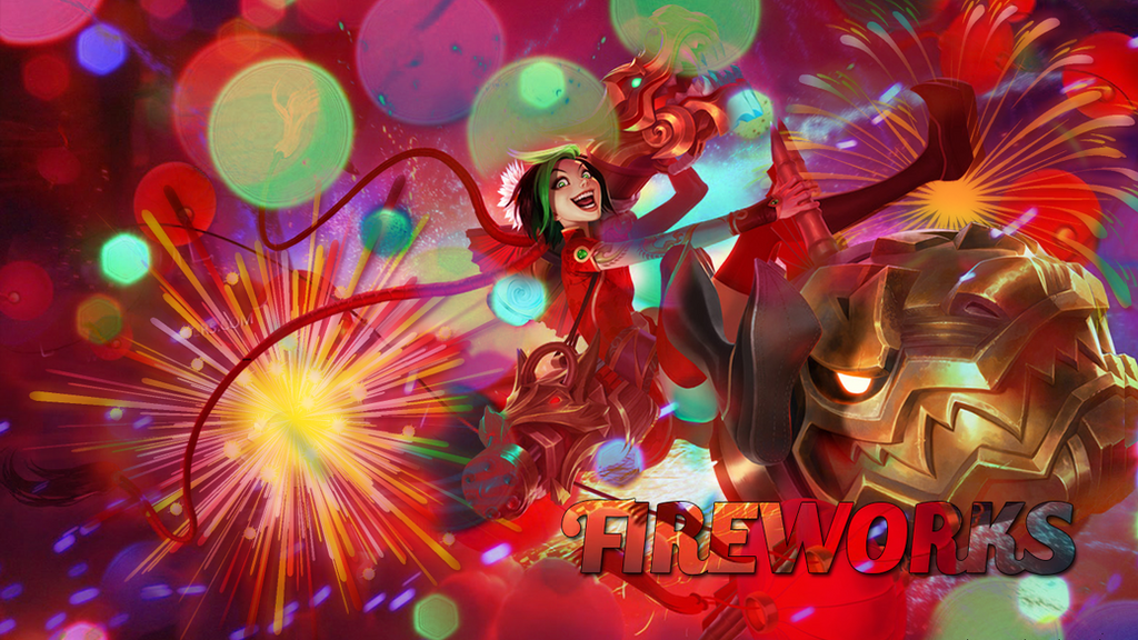 Firecracker Jinx Wallpaper Firecracker Jinx Wallpaper by Soul