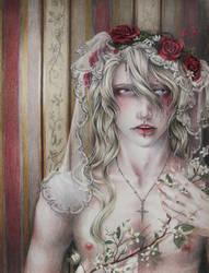 Jizabel- Orange Blossom Bride by Shondrea