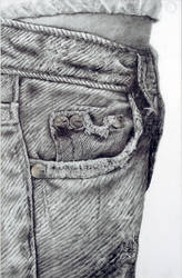 My Favorite Pair of Jeans. by Shondrea
