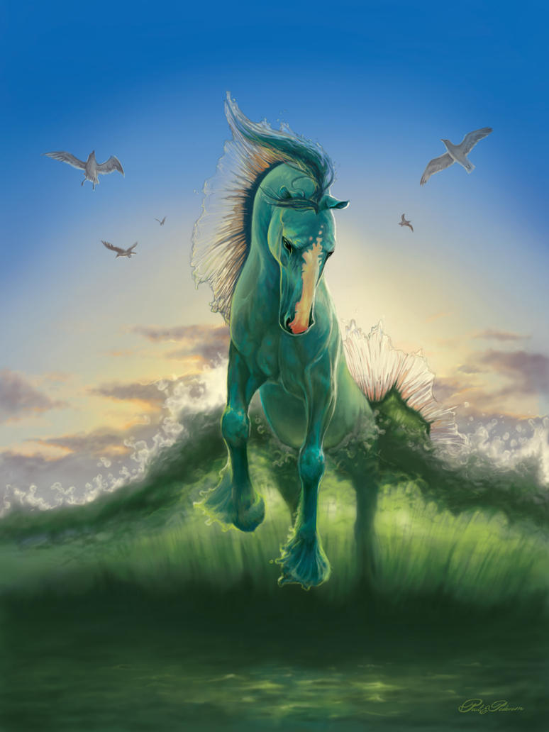 Water Horse by www-PaulPederson-com on DeviantArt