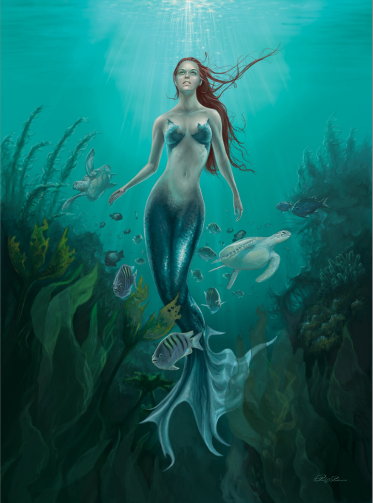 Mermaid Ascension by www-PaulPederson-com