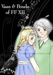 Vaan-Penelo FF XII fanart by pixelmint