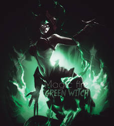 green witch by aazin