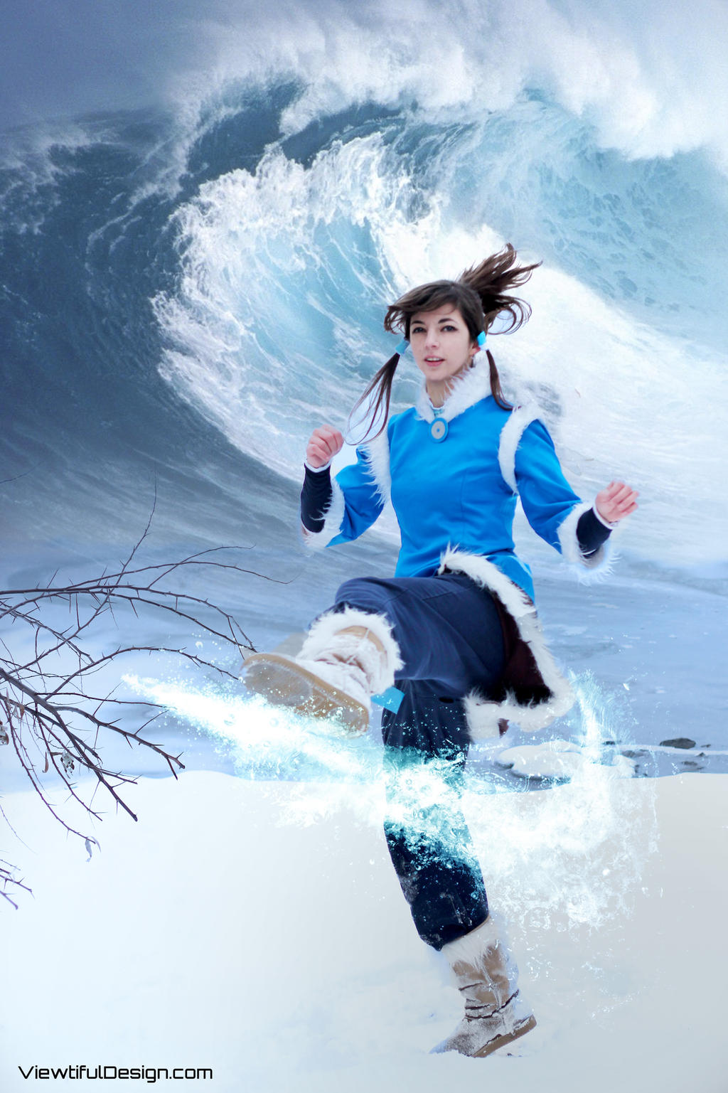 Korra. Water Bender. by viewtifu1