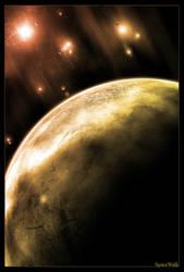 Spacewalk 2 by DarkenedCloud