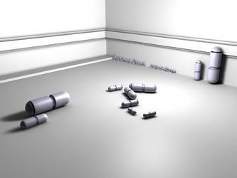 Capsule Room by DarkenedCloud