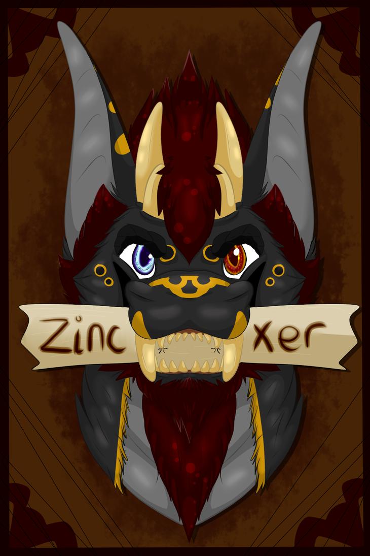 Zincxer Conbadge by Demons-Trap