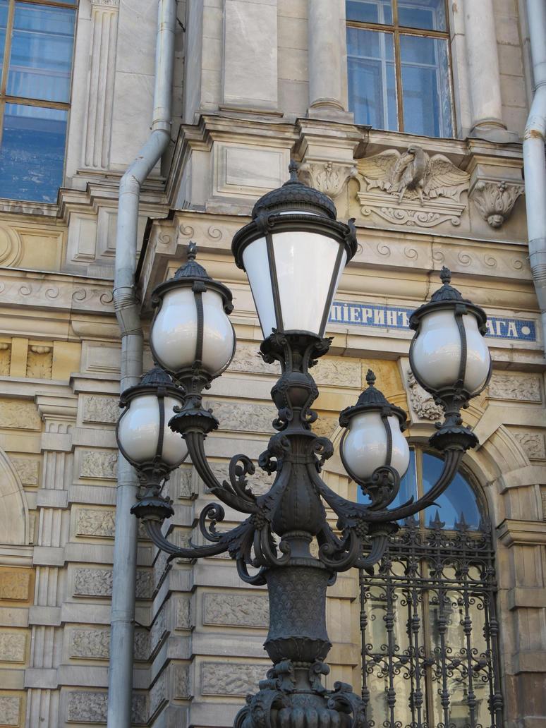 Street lantern 2 by Lady-Legend