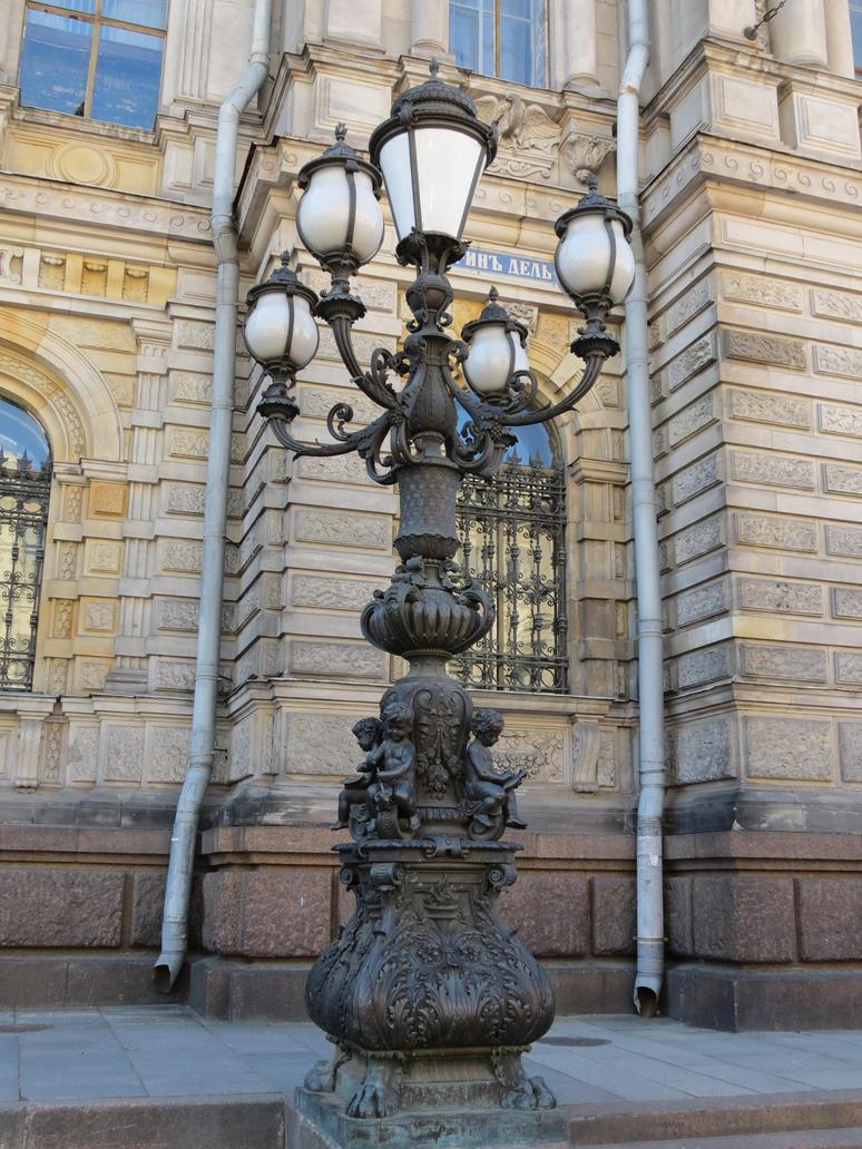 Street lantern 3 by Lady-Legend