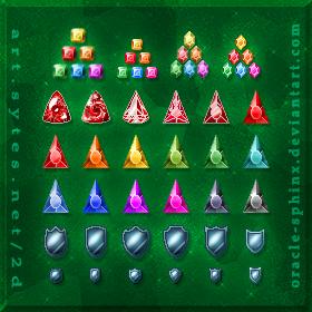 игры в кристалы