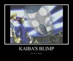Kaiba's blimp.