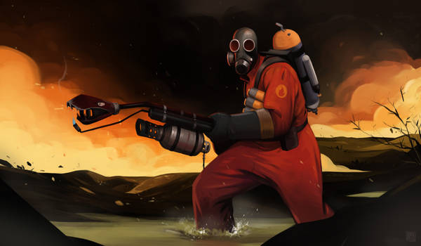 Pyro'll always find you!