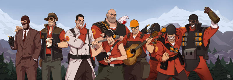 Happy 10 anniversary, Team Fortress!
