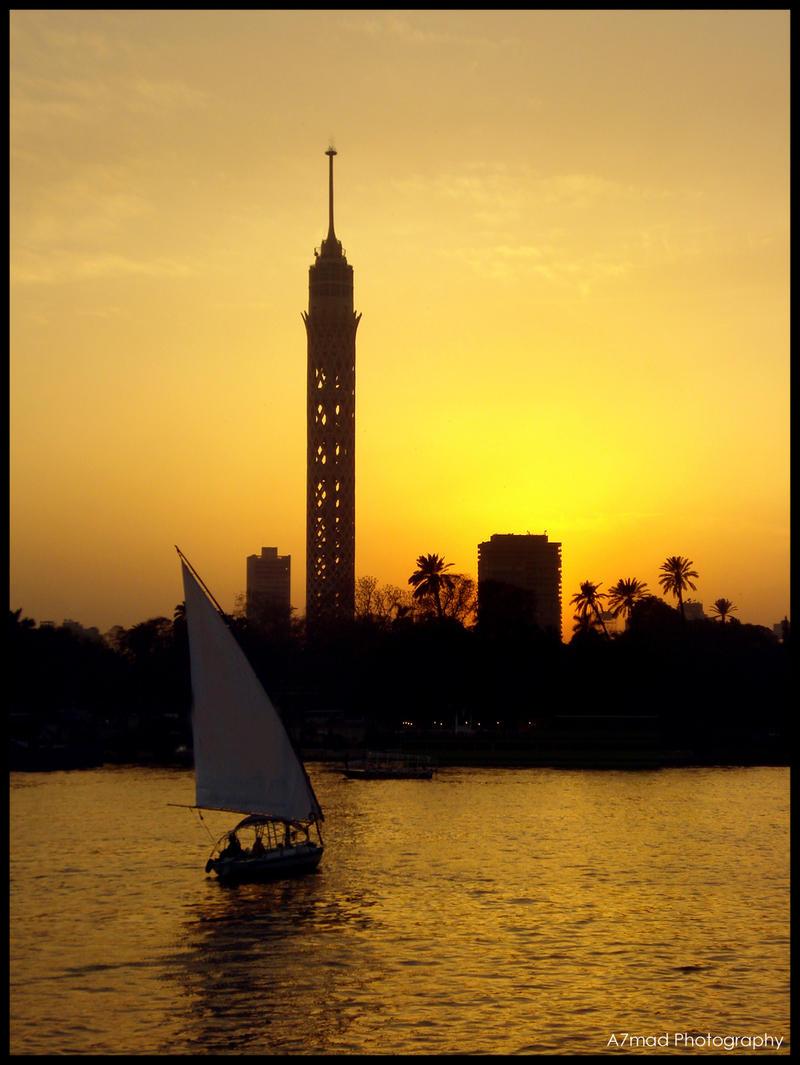 Egyptian Photo GIF JPG: Cairo Tower