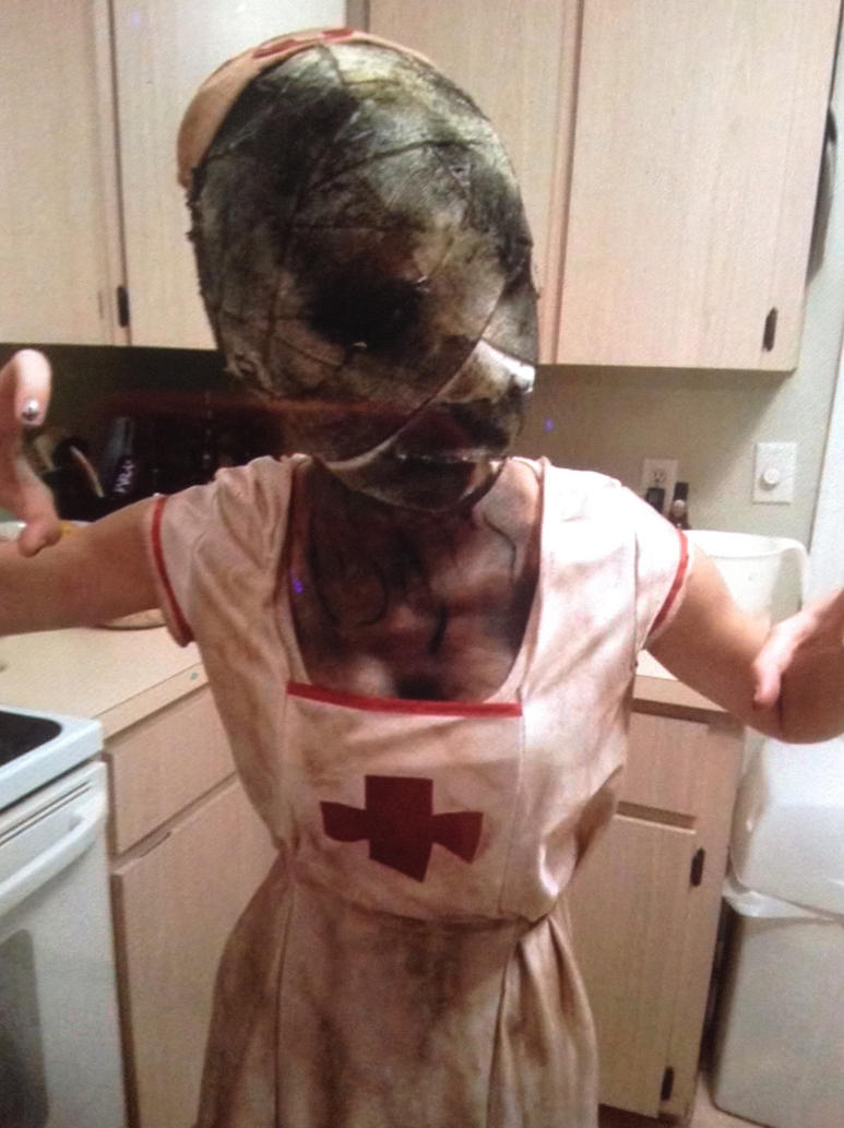 Halloween Costume 2016- Silent Hill Nurse by miss-devon-designs ... & Halloween Costume 2016- Silent Hill Nurse by miss-devon-designs on ...