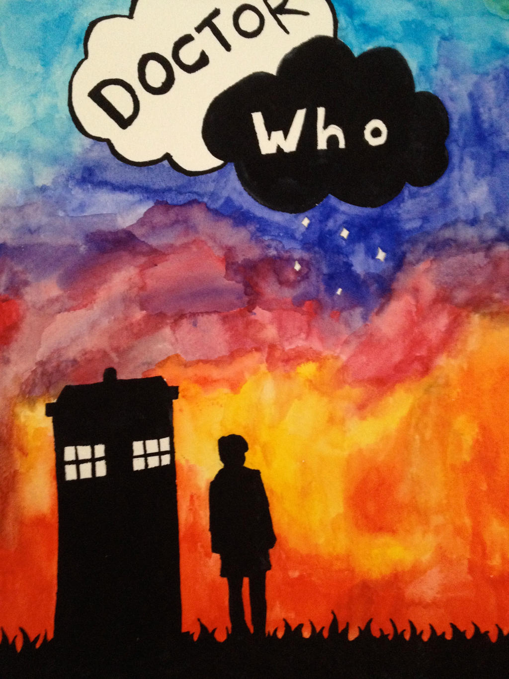 Doctor Who/ The fault in our stars by England-France