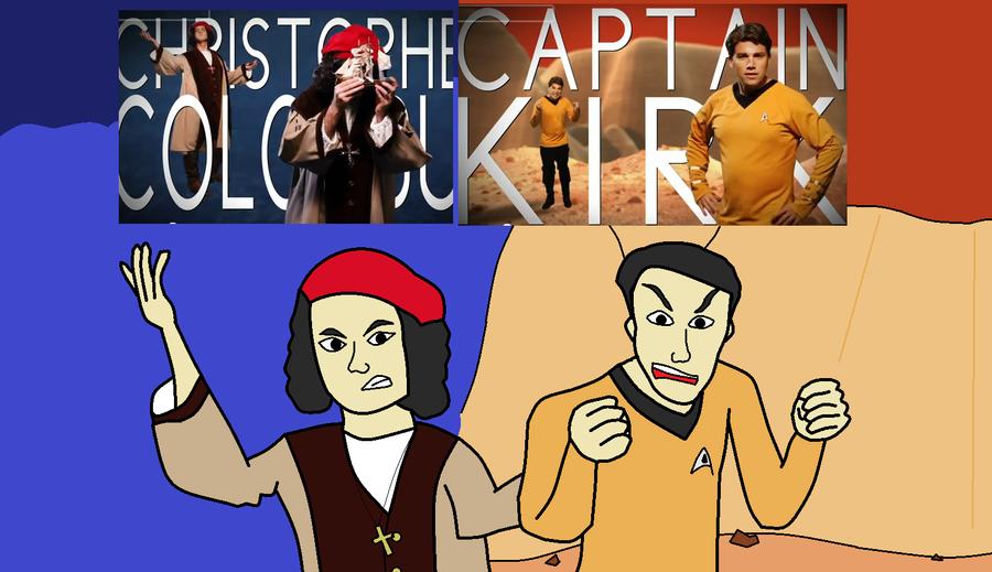 Captain Krik Vs Columbus By Supertails123 On DeviantArt
