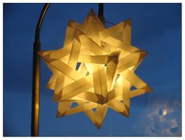 origami lampshade by italo