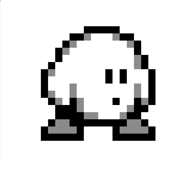 Kirby Sprite By Psykhed On DeviantArt