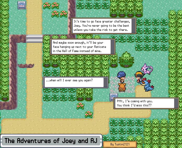 Joey Adventure [J000] Teaser Comic by Tustin2121