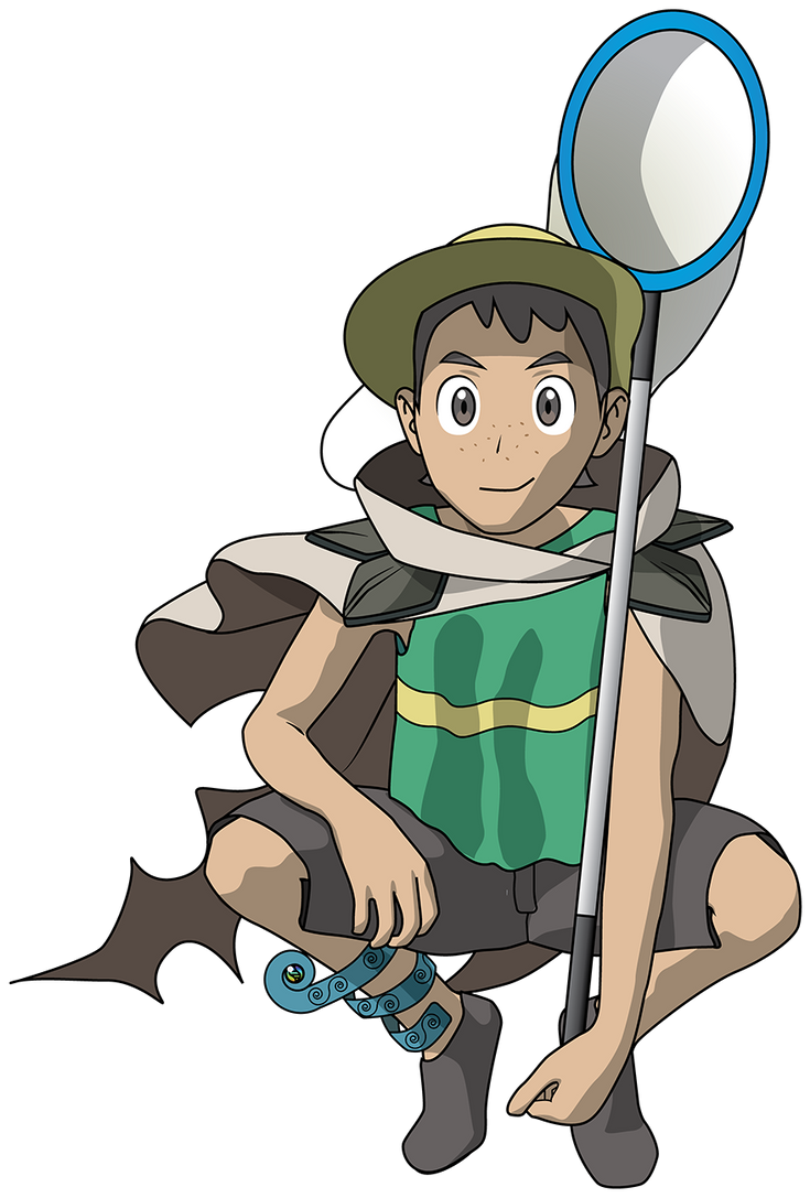 Lorekeeper James (The People of Hoenn) by Tustin2121