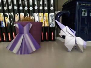 Unicorn and dress