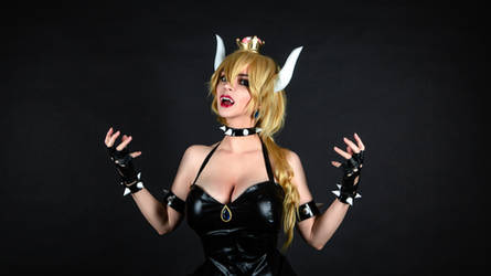 Bowsette - Super Mario Bros. by AlexReiss