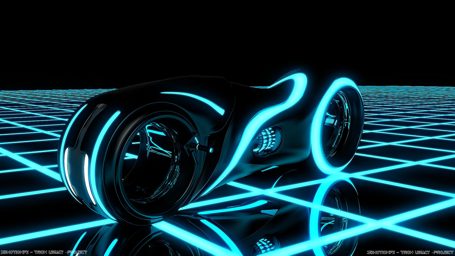 Tron Legacy Blender Render Alex 3dm by Bigbang06