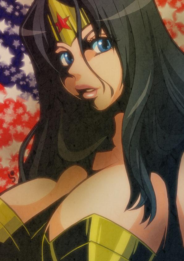 Wonder Woman by Lychee-Soda