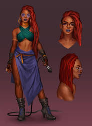 Afropunk (CDC entry) by JujuFei