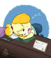 Hard at work by Soap9000