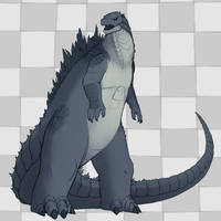 Godzilla (2014) by Soap9000
