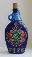 Celtic Fish Bottle