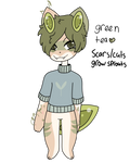 Green Tea Adoptable (closed) by rabidmomento