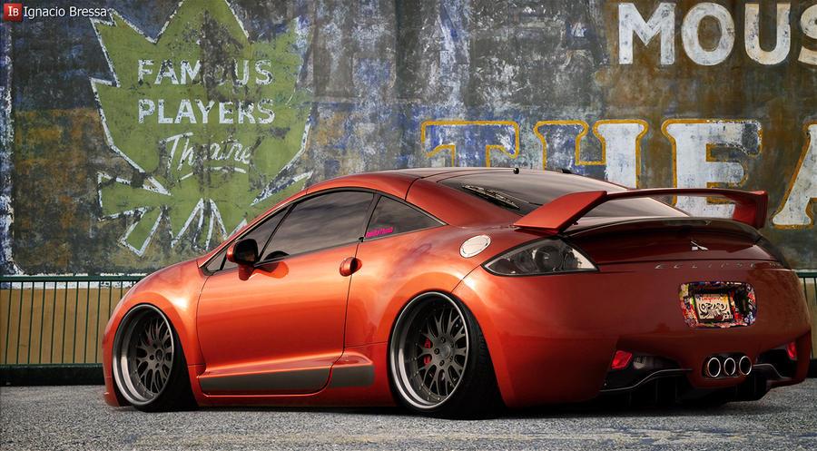 Mitsubishi Eclipse GT by IgnacioBressa on DeviantArt